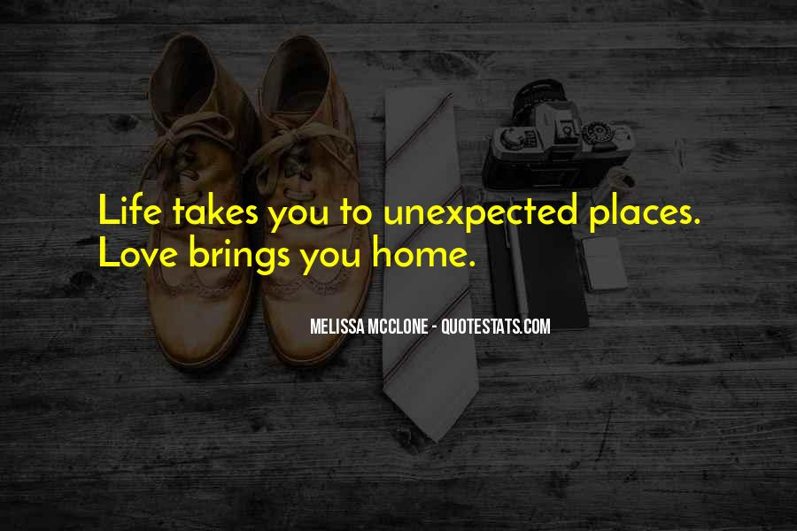 Quotes About Love Unexpected #1330417