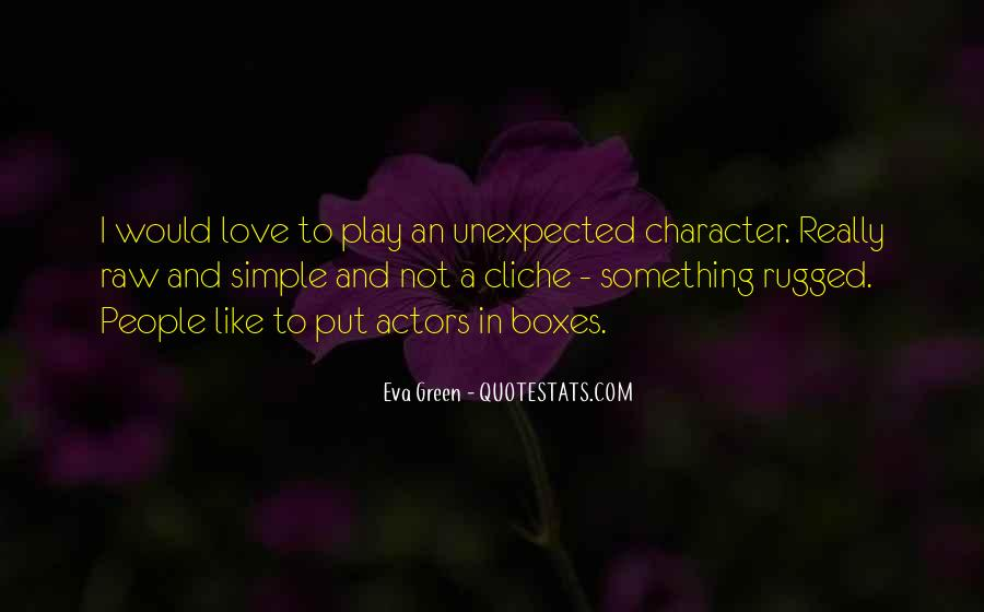 Quotes About Love Unexpected #1499593