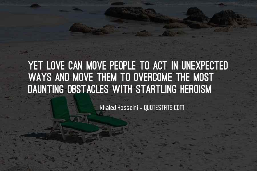 Quotes About Love Unexpected #1818738