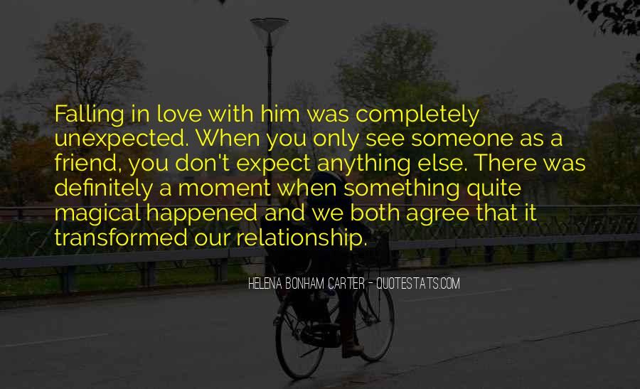 Quotes About Love Unexpected #692213