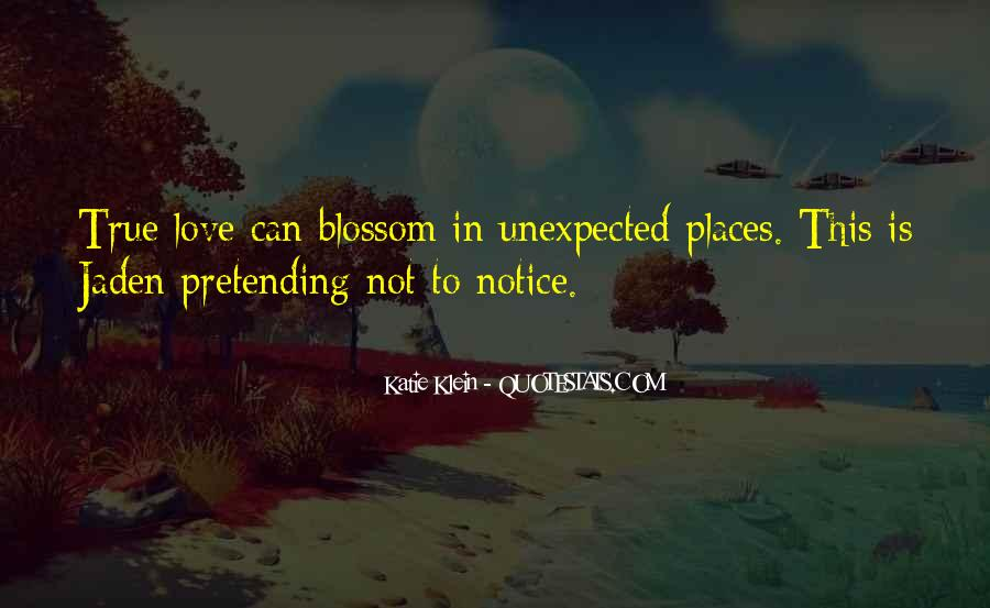 Quotes About Love Unexpected #742465