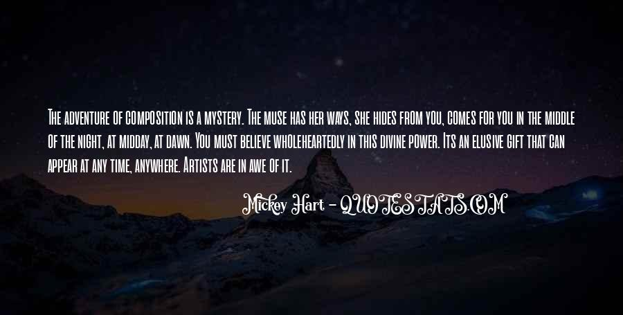 Quotes About The Mystery Of Time #1233698