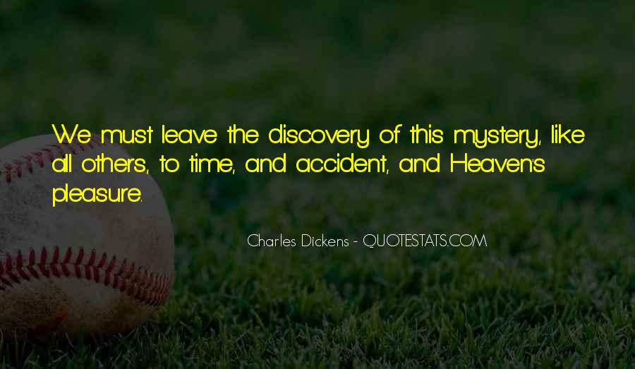 Quotes About The Mystery Of Time #135321