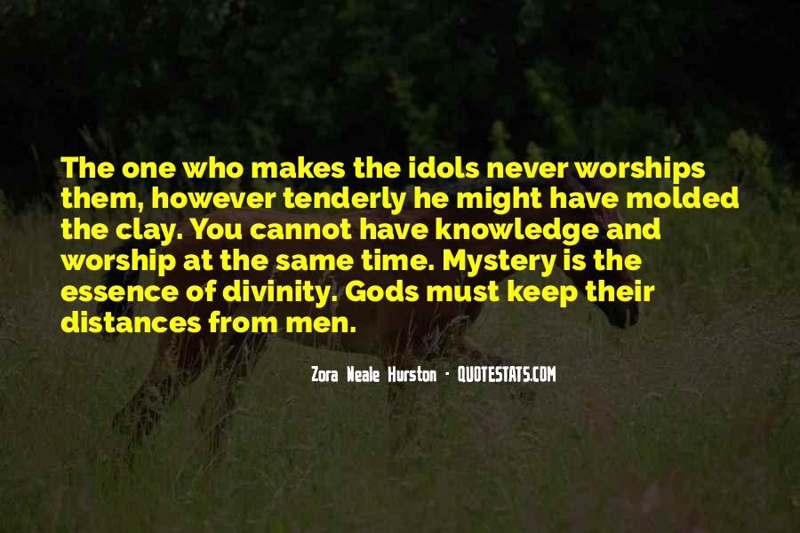 Quotes About The Mystery Of Time #1411433