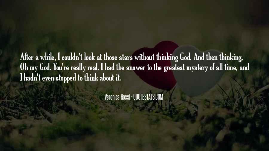 Quotes About The Mystery Of Time #1411606