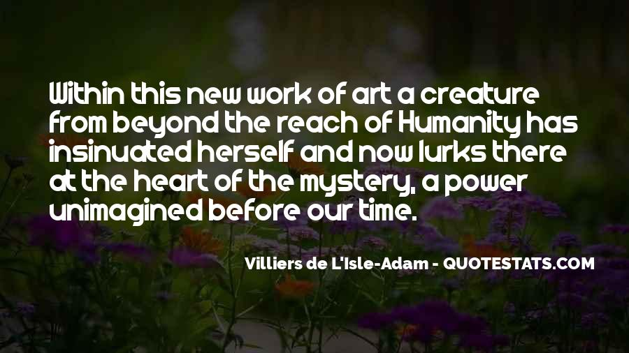 Quotes About The Mystery Of Time #221806