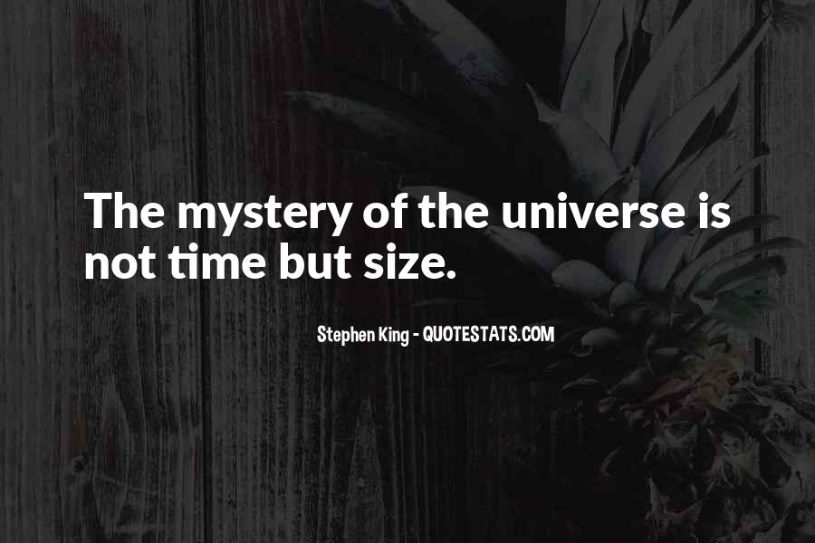 Quotes About The Mystery Of Time #410964