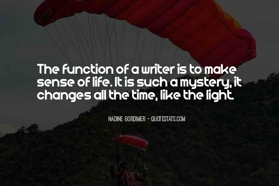Quotes About The Mystery Of Time #41148