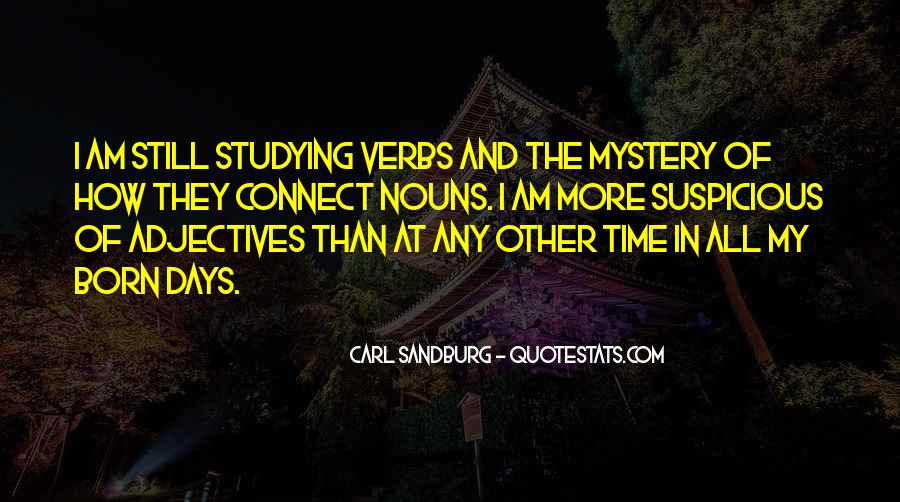 Quotes About The Mystery Of Time #414439