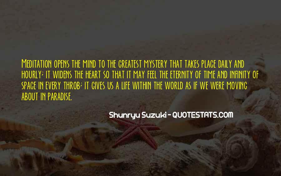 Quotes About The Mystery Of Time #465855