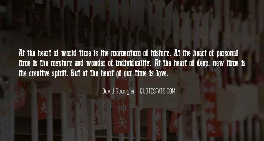 Quotes About The Mystery Of Time #77706