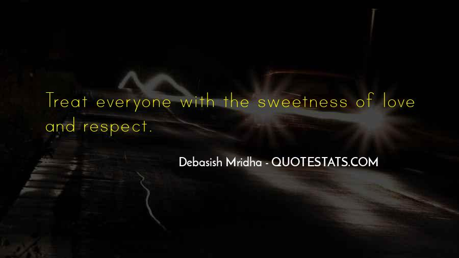 Quotes About Sweetness Of Love #1156134