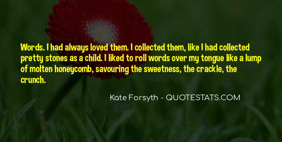Quotes About Sweetness Of Love #1185194
