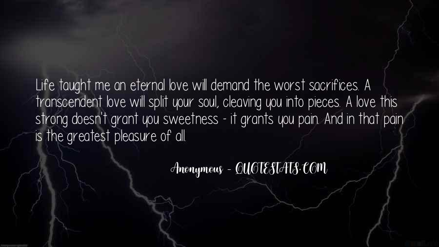Quotes About Sweetness Of Love #1189577