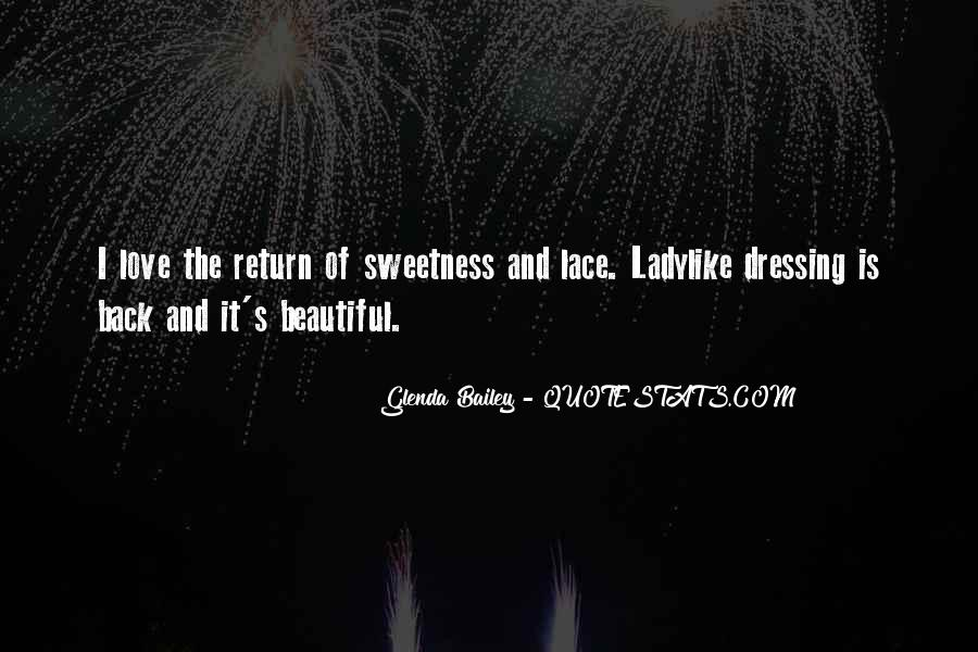 Quotes About Sweetness Of Love #722403