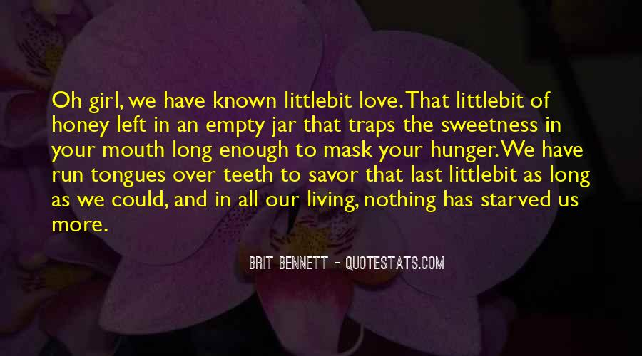 Quotes About Sweetness Of Love #826638