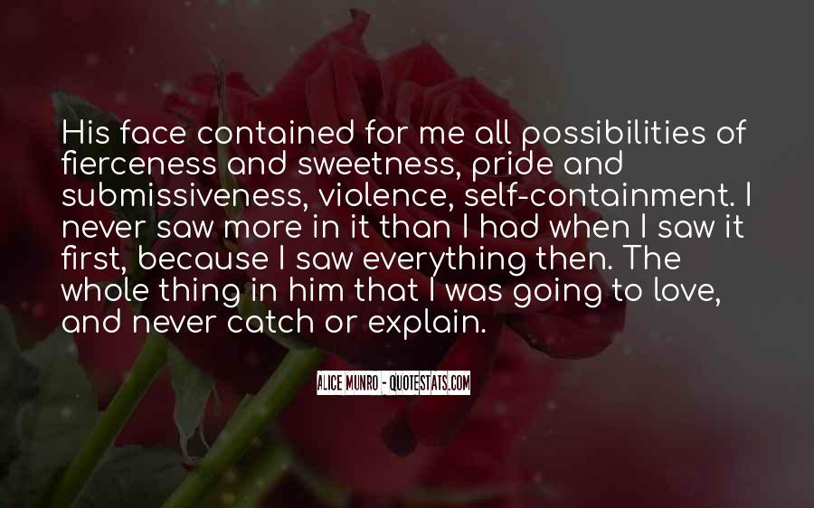 Quotes About Sweetness Of Love #8981