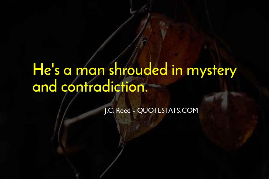 Quotes About Shrouded #674430