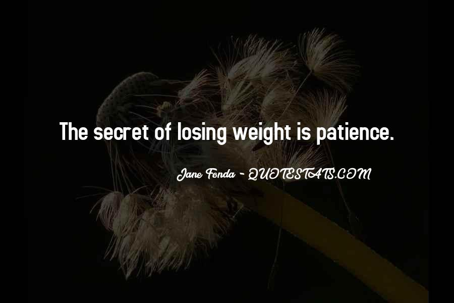 Quotes About Loss Weight #224299