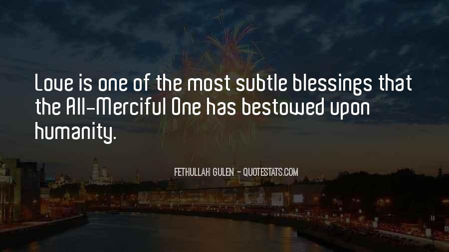 Quotes About The Blessings Of God #123353