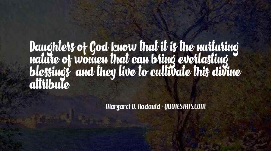 Quotes About The Blessings Of God #151135