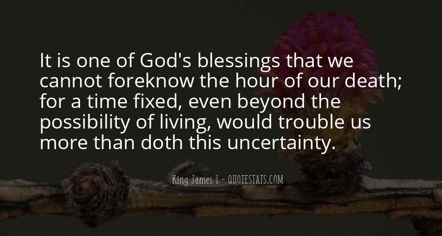 Quotes About The Blessings Of God #158815