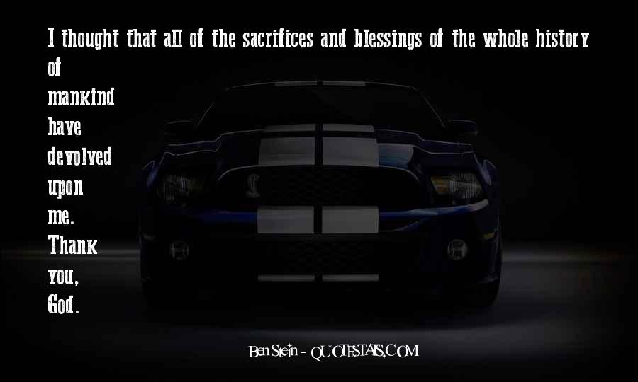 Quotes About The Blessings Of God #174875