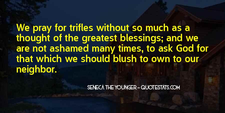 Quotes About The Blessings Of God #268480