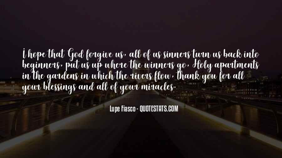 Quotes About The Blessings Of God #373795