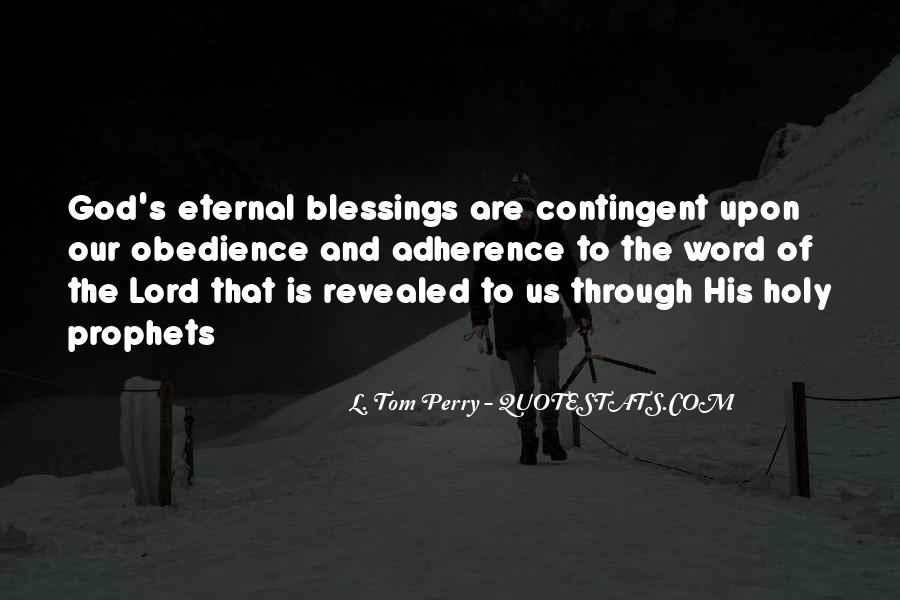 Quotes About The Blessings Of God #389717