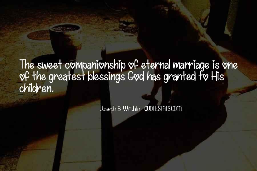 Quotes About The Blessings Of God #438037