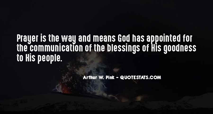 Quotes About The Blessings Of God #449623