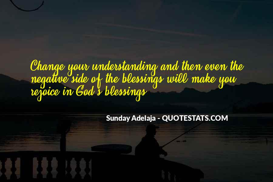 Quotes About The Blessings Of God #4594