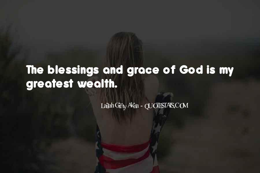 Quotes About The Blessings Of God #465053