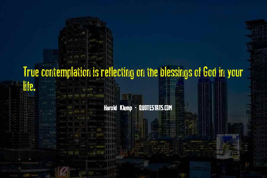 Quotes About The Blessings Of God #489420