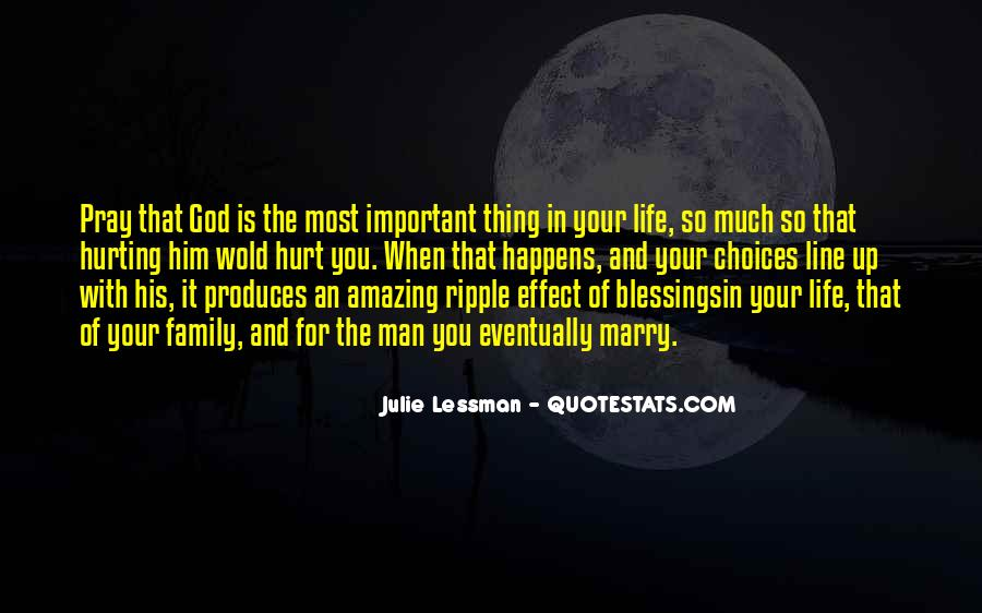 Quotes About The Blessings Of God #492584