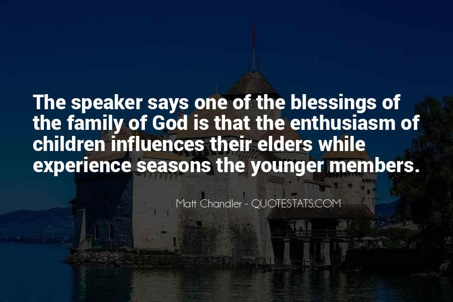 Quotes About The Blessings Of God #506795