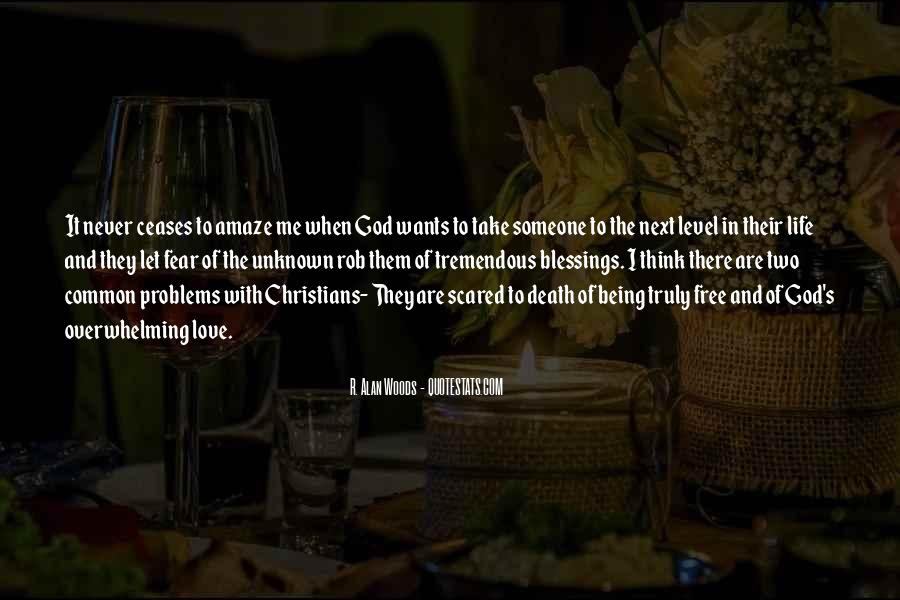 Quotes About The Blessings Of God #530379