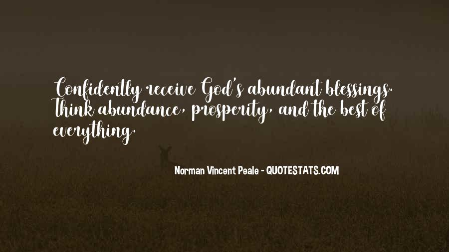 Quotes About The Blessings Of God #585257