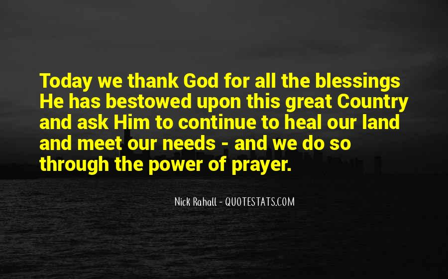 Quotes About The Blessings Of God #648644