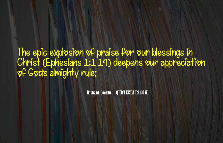 Quotes About The Blessings Of God #659964