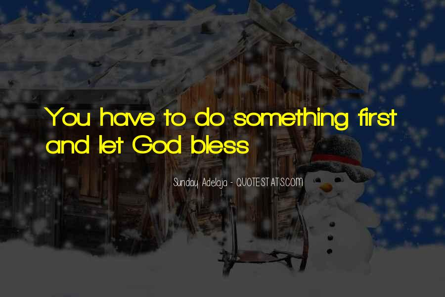 Quotes About The Blessings Of God #685620
