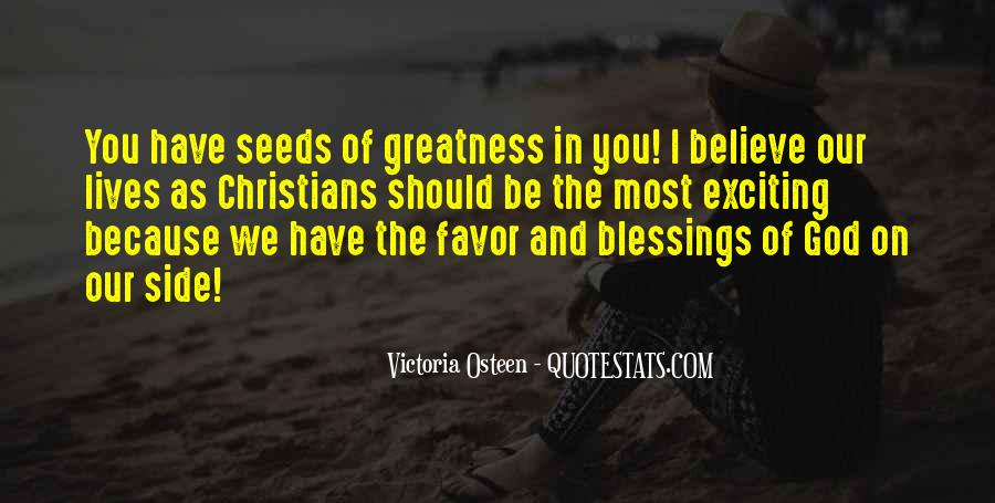 Quotes About The Blessings Of God #773780