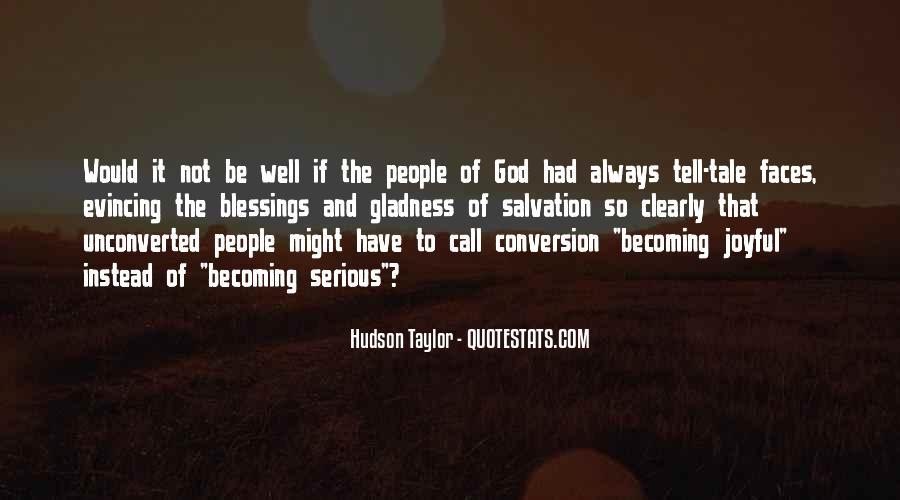 Quotes About The Blessings Of God #843441