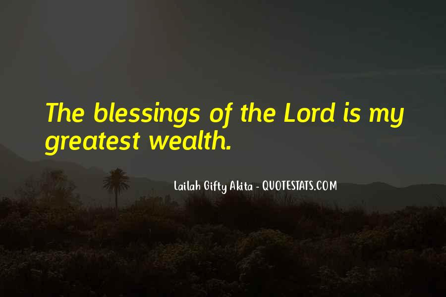 Quotes About The Blessings Of God #855312