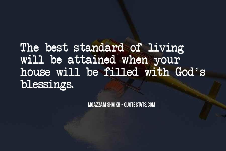Quotes About The Blessings Of God #881059