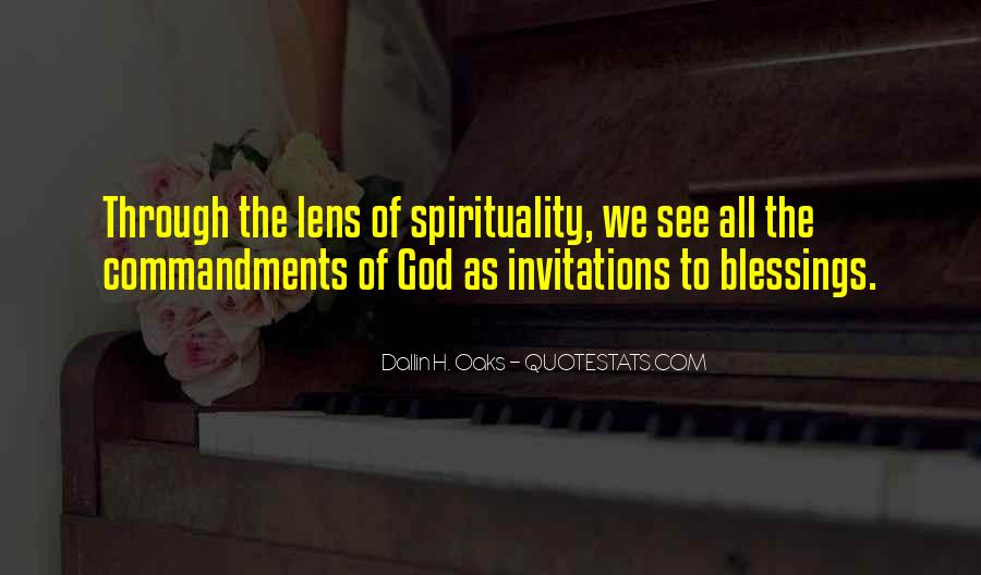 Quotes About The Blessings Of God #883116