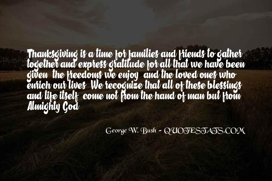Quotes About The Blessings Of God #903529