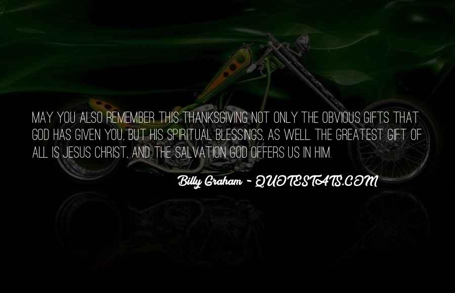 Quotes About The Blessings Of God #91897