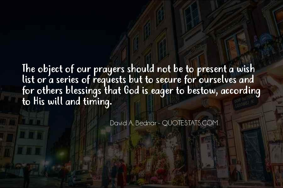Quotes About The Blessings Of God #935845